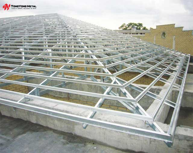 go - Metal Roof Trusses